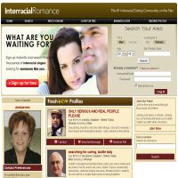 Interracial Romance image
