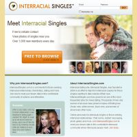 Interracial Singles image